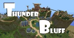 Thunder Bluff - World of Warcraft Minecraft
