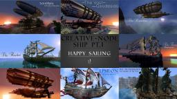 Creative-Node Ship Bundle 8 Detailed ships *WITH DOWNLOAD* Minecraft Project