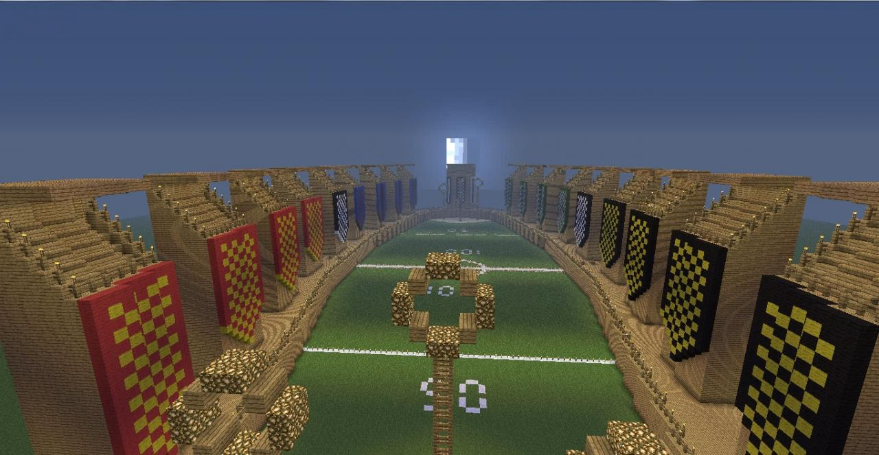 Quidditch Pitch Minecraft Quidditch Pitch Minecraft