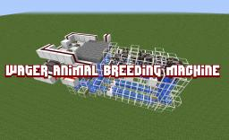 Water Animal Breeding Machine 1.2.4 Minecraft Map & Project