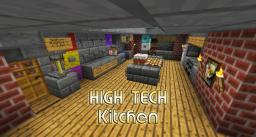 High Tech Kitchen / House - small and easy Minecraft Map & Project