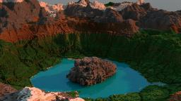 Crater Lake Minecraft