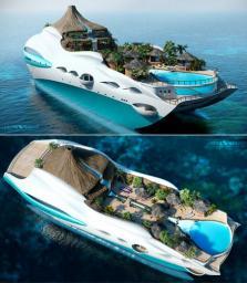 Super yacht Minecraft