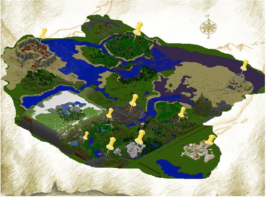 hero quest 1 minecraft map