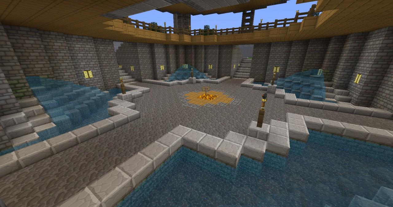 Base of Building (warp spawn loaction)