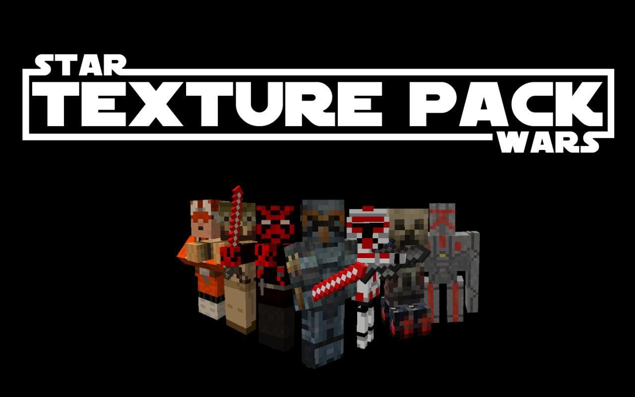 star wars resource pack minecraft