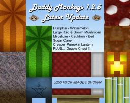 Daddy Monkeys Texture Pack 128x128 Minecraft