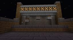 Redstone powered shooting range - updated Minecraft Map & Project