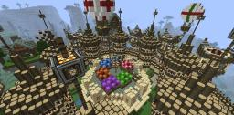 Robranna: The Trade City of the Sky Minecraft Map & Project
