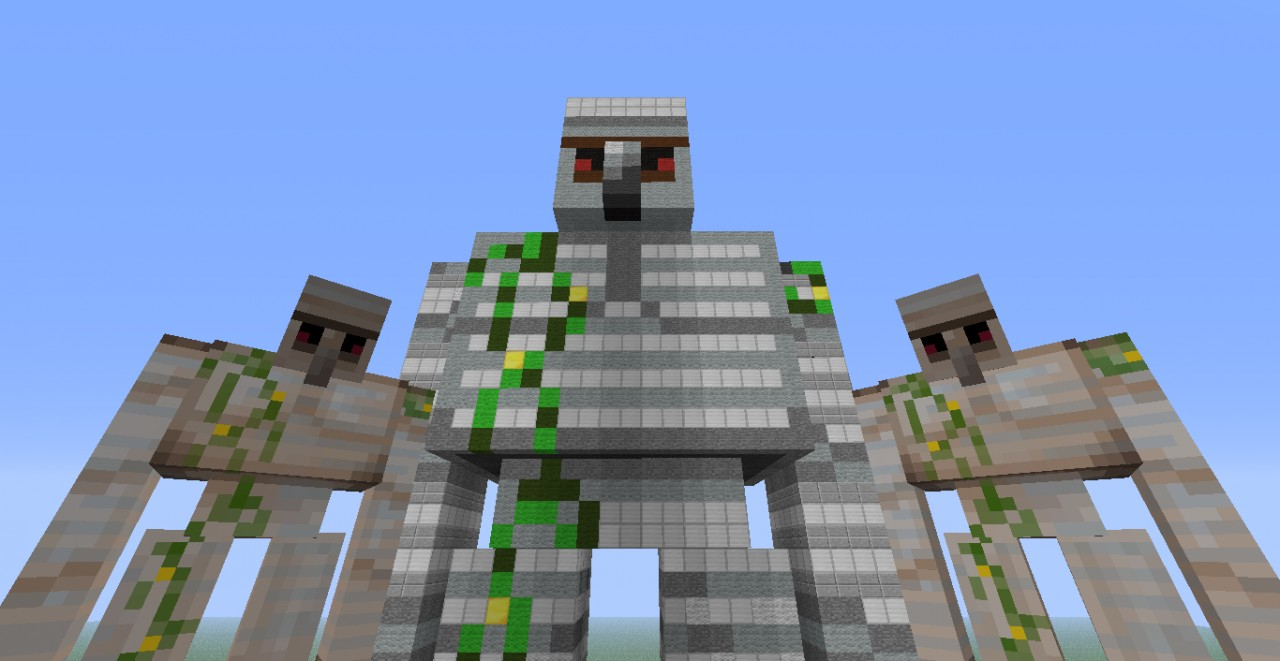 minecraft how to create a golem