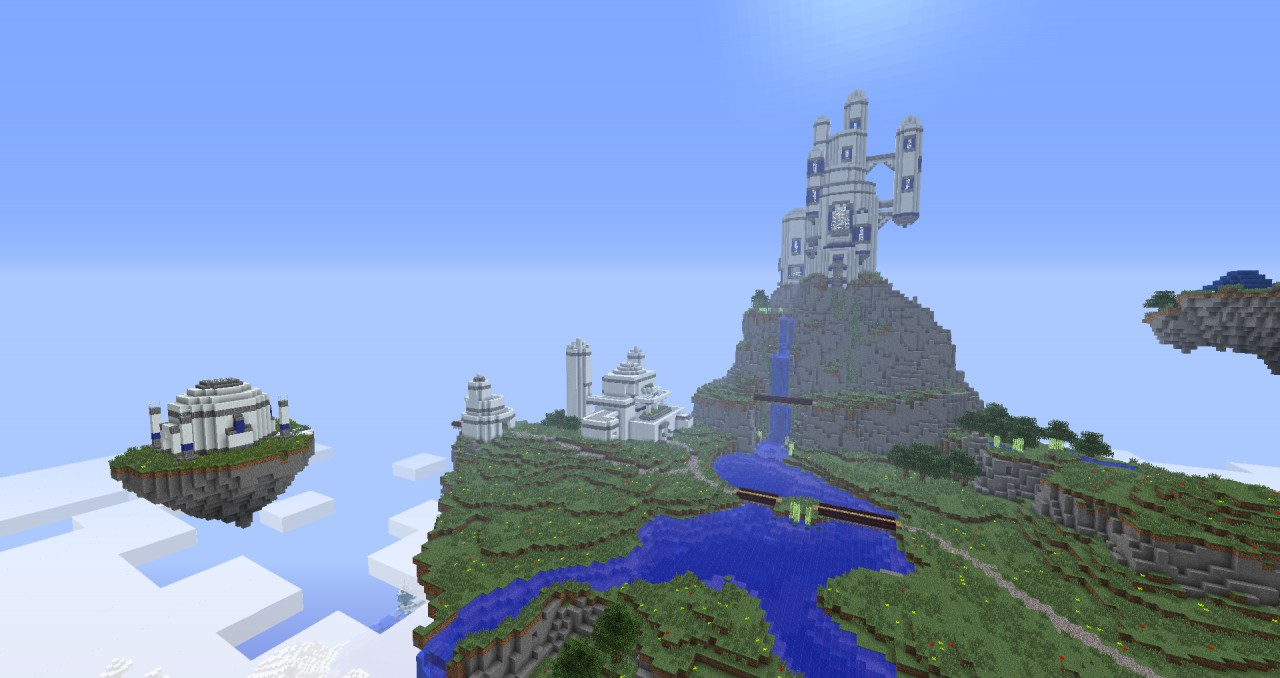 Kingdom of Zeal (From Chrono Trigger) Minecraft Project