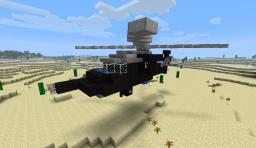 UH-60 Black Hawk  -  Helicopter Minecraft Map & Project