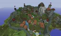 Minecraft Timelapse: Medieval village Minecraft Map & Project