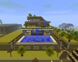Lemon Town Manor (Meera House) Minecraft Map & Project