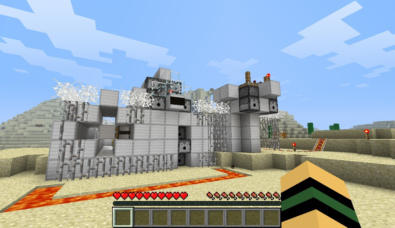 Military Outpost Minecraft Project