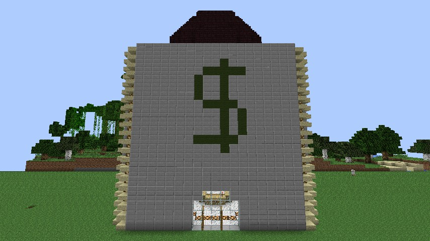 how to build an equestrian center minecraft