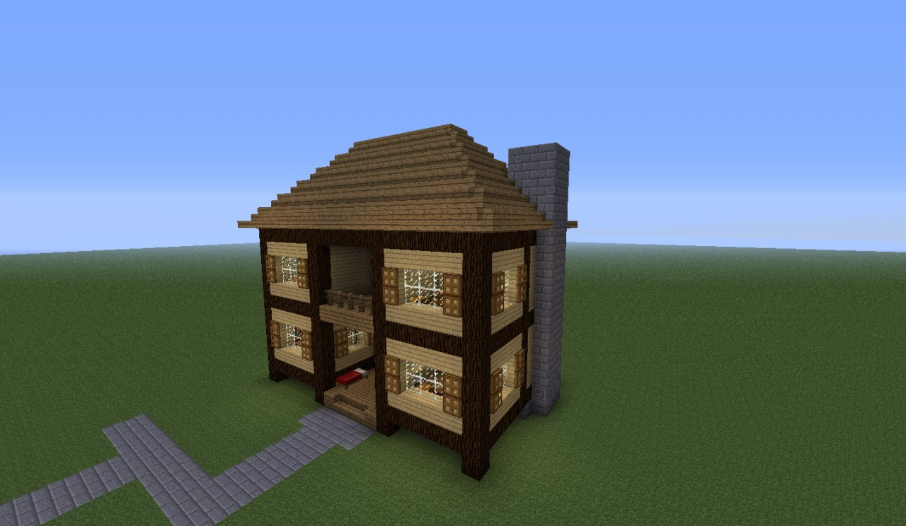 how to build village houses in minecraft