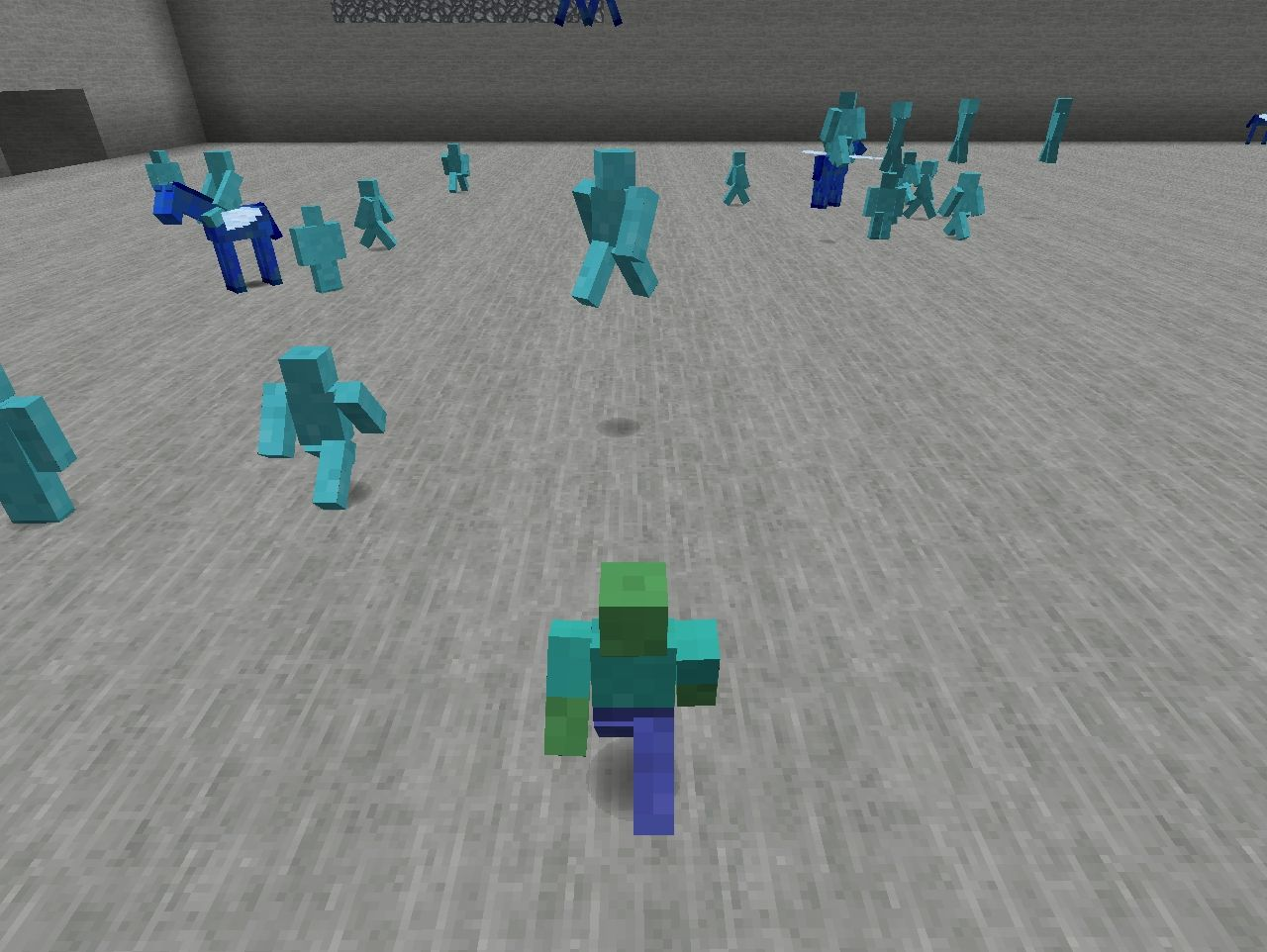 Zombie Clay Soldier in the Clay Soldiers Mod?