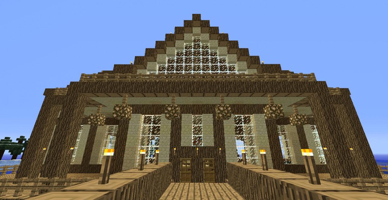 Huge Epic Mansion Minecraft Project