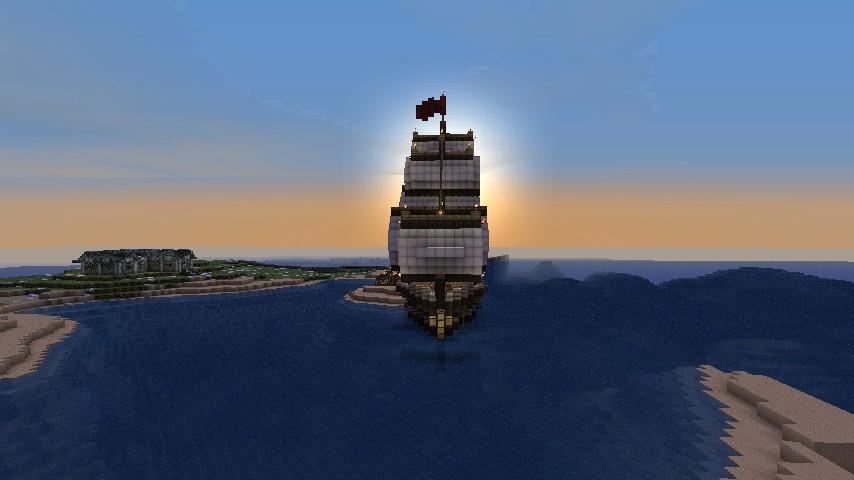 The Vengence Ship (made by DemonSyborg)