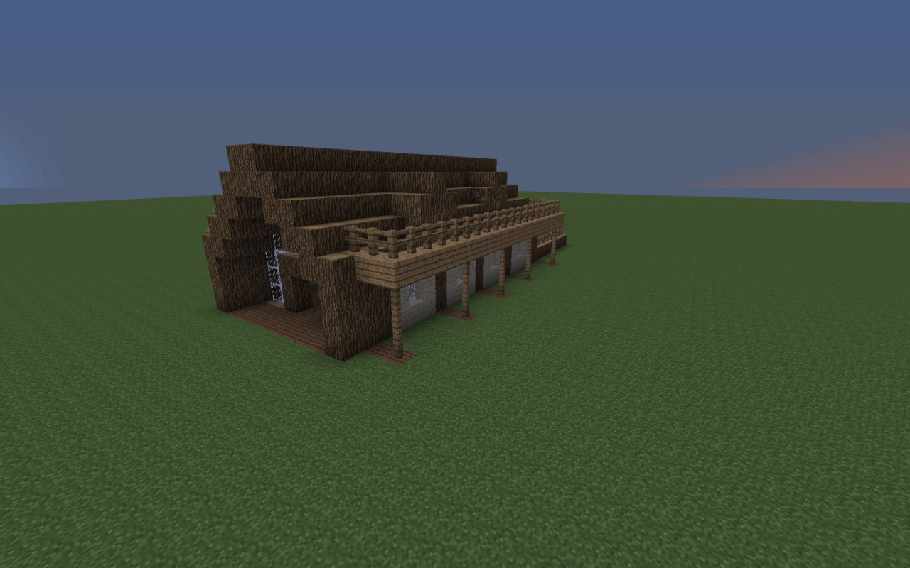 Small Wood Cottage Minecraft Project
