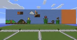 Super Mario Level Minecraft Map & Project