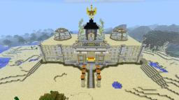 Sandstone Palace Minecraft Map & Project