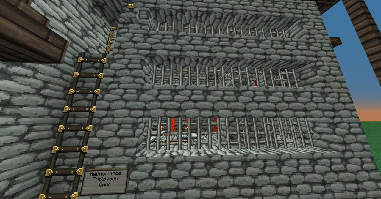 how to build a automatic cobblestone generator