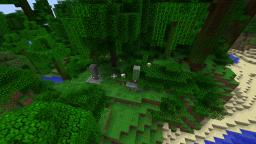 Randomly Generated Pillars Minecraft Mod