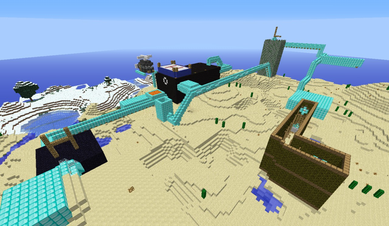 PIcture of ONLY PART of the whole parkour :D