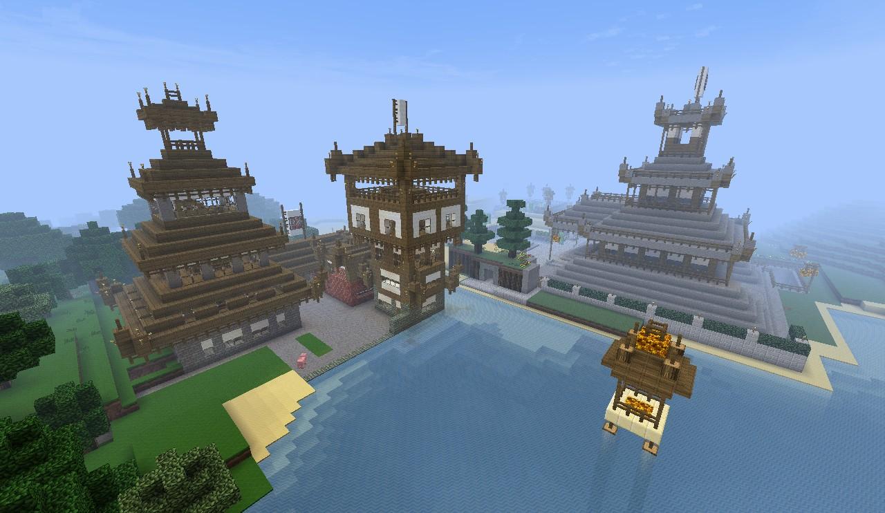 Mała Japonia Small Japan Minecraft Project