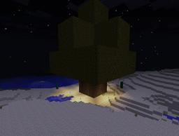 Huge Minecraft Tree