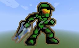 Chibi Master Chief Minecraft