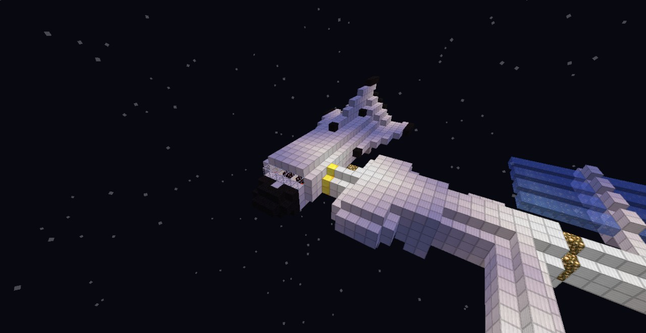 Nasa Space Station Minecraft Project