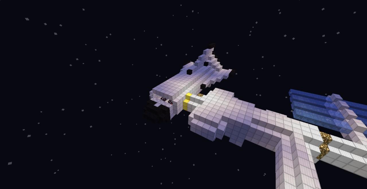 The NASA space shuttle!