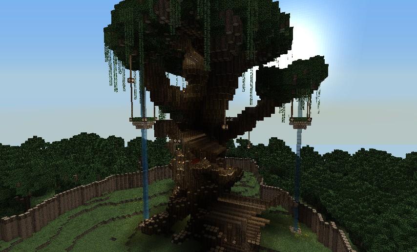 Randora, the wood elf city (Work in progress)