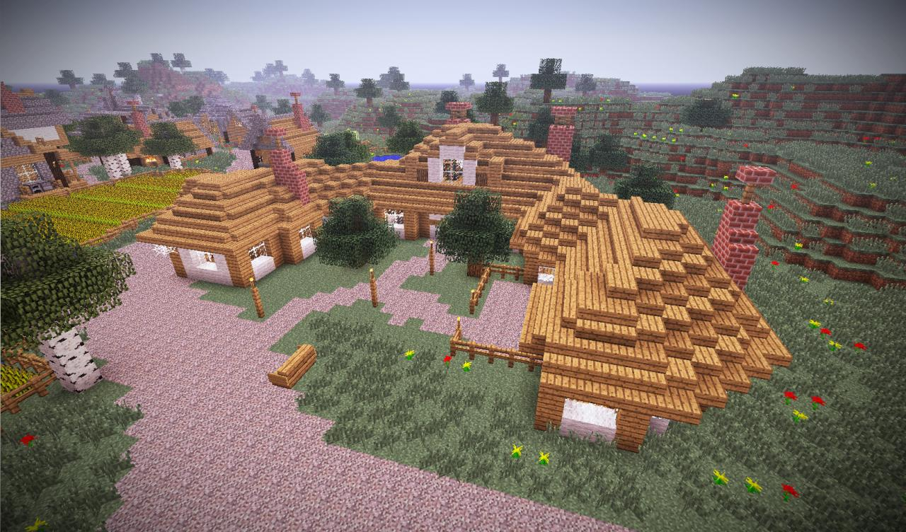 The Green Dragon - Lord Of The Rings (Shire) Minecraft Project