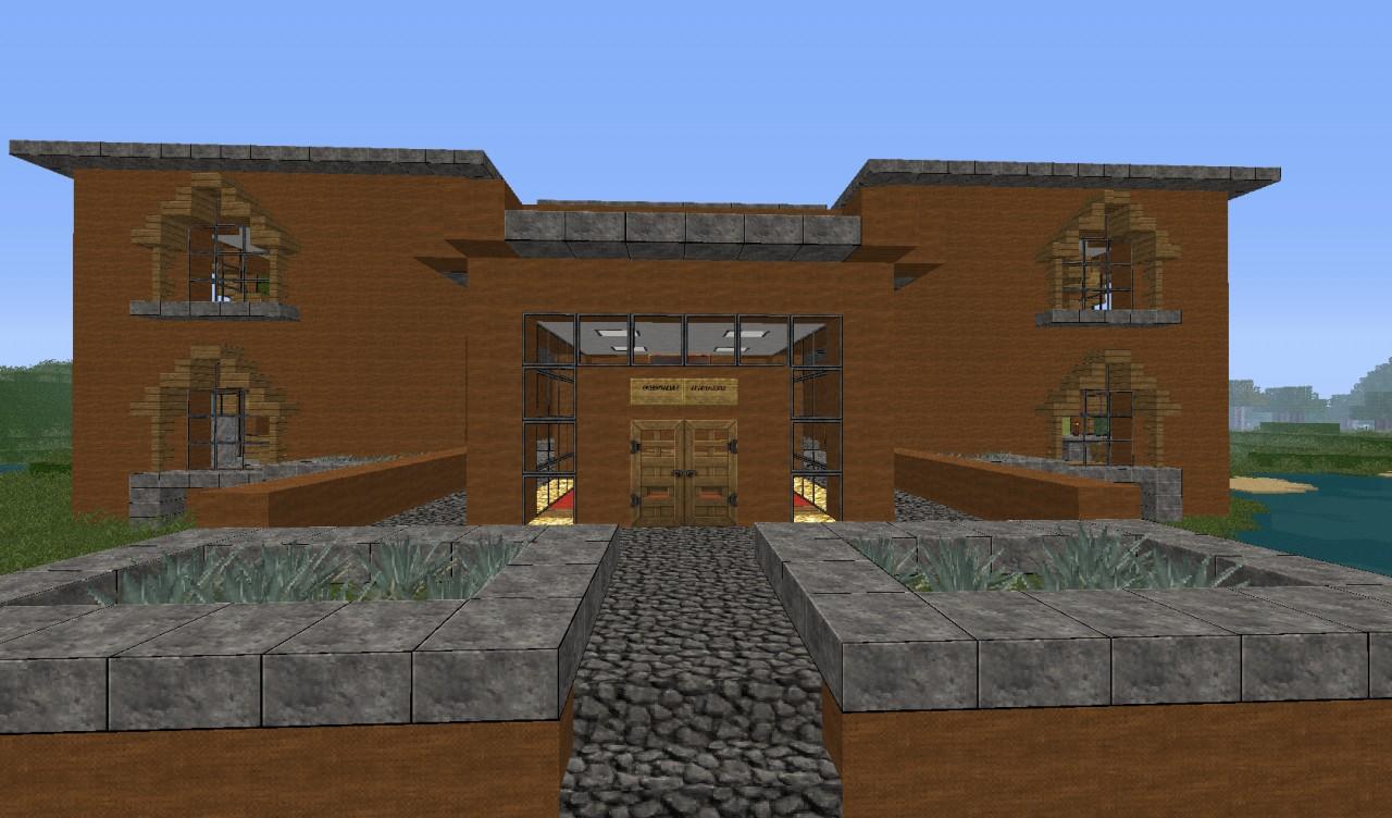 Modern Apartment Complex Minecraft Project