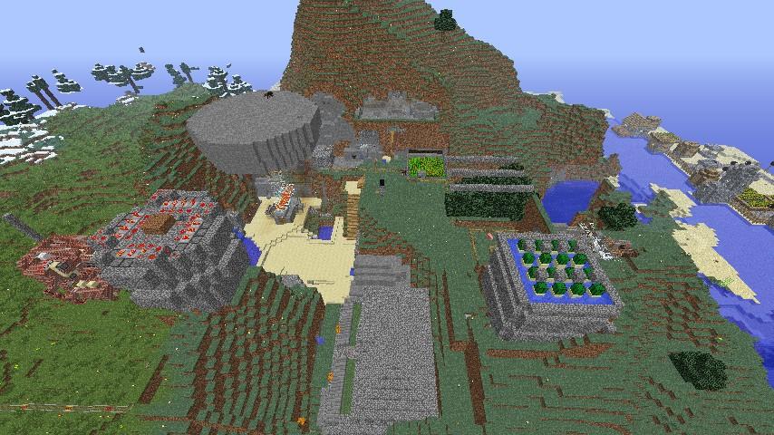 Minecraft D Survival Craft