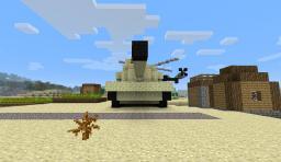 M1 Abrams - Battle Tank Minecraft Map & Project