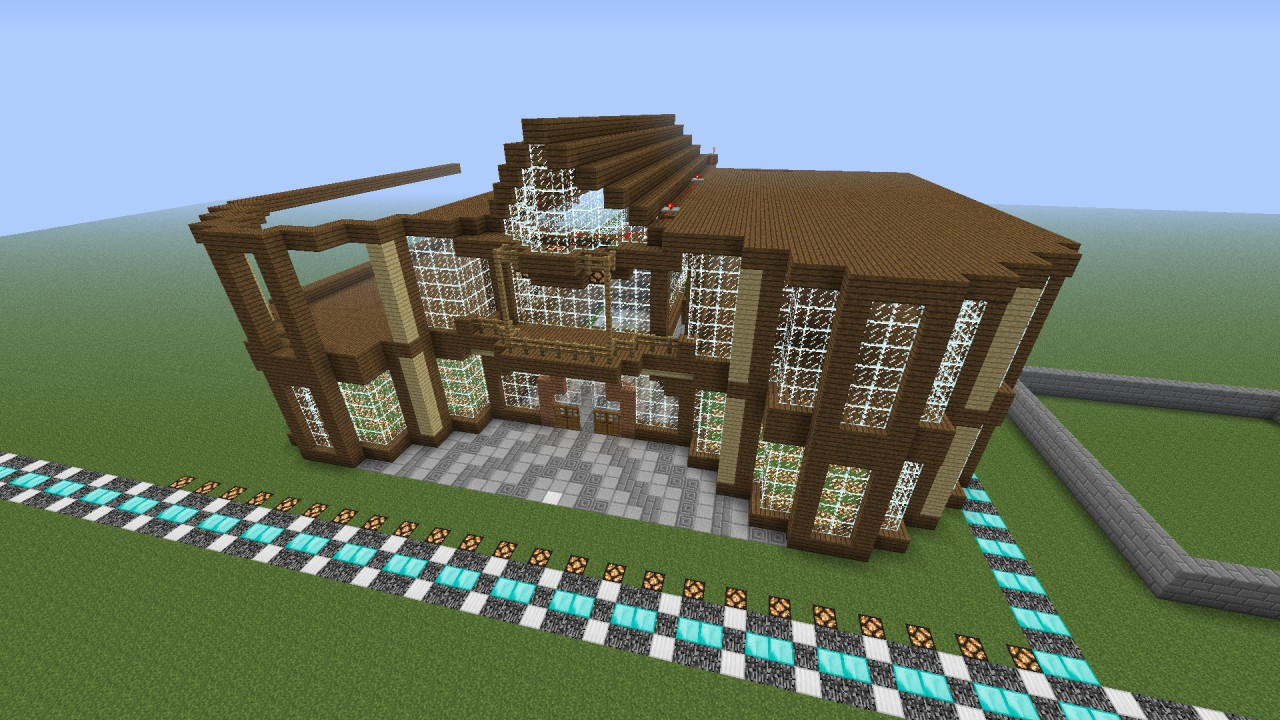 The Wooden Mansion Minecraft Project