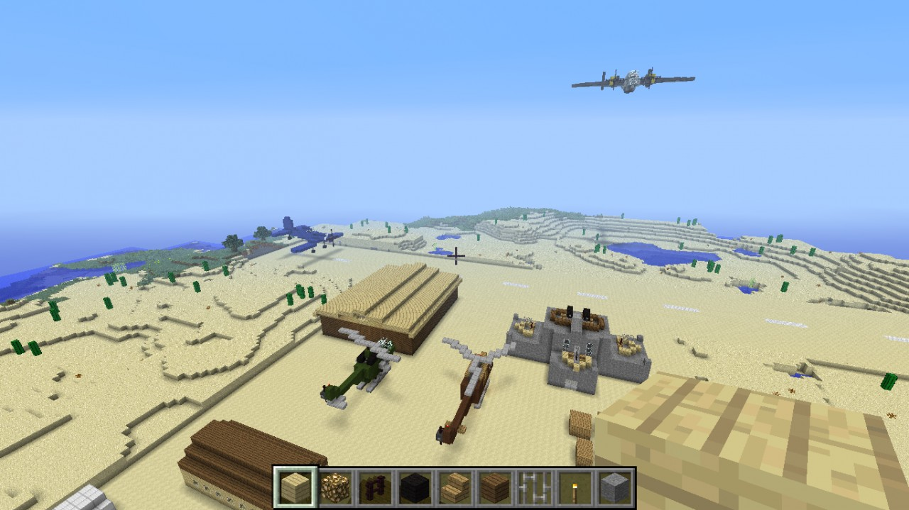 Military Airport Ww2 Minecraft Map