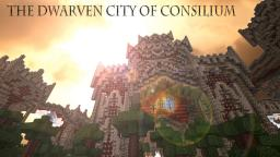 Dwarven City of Consilium Minecraft Map & Project