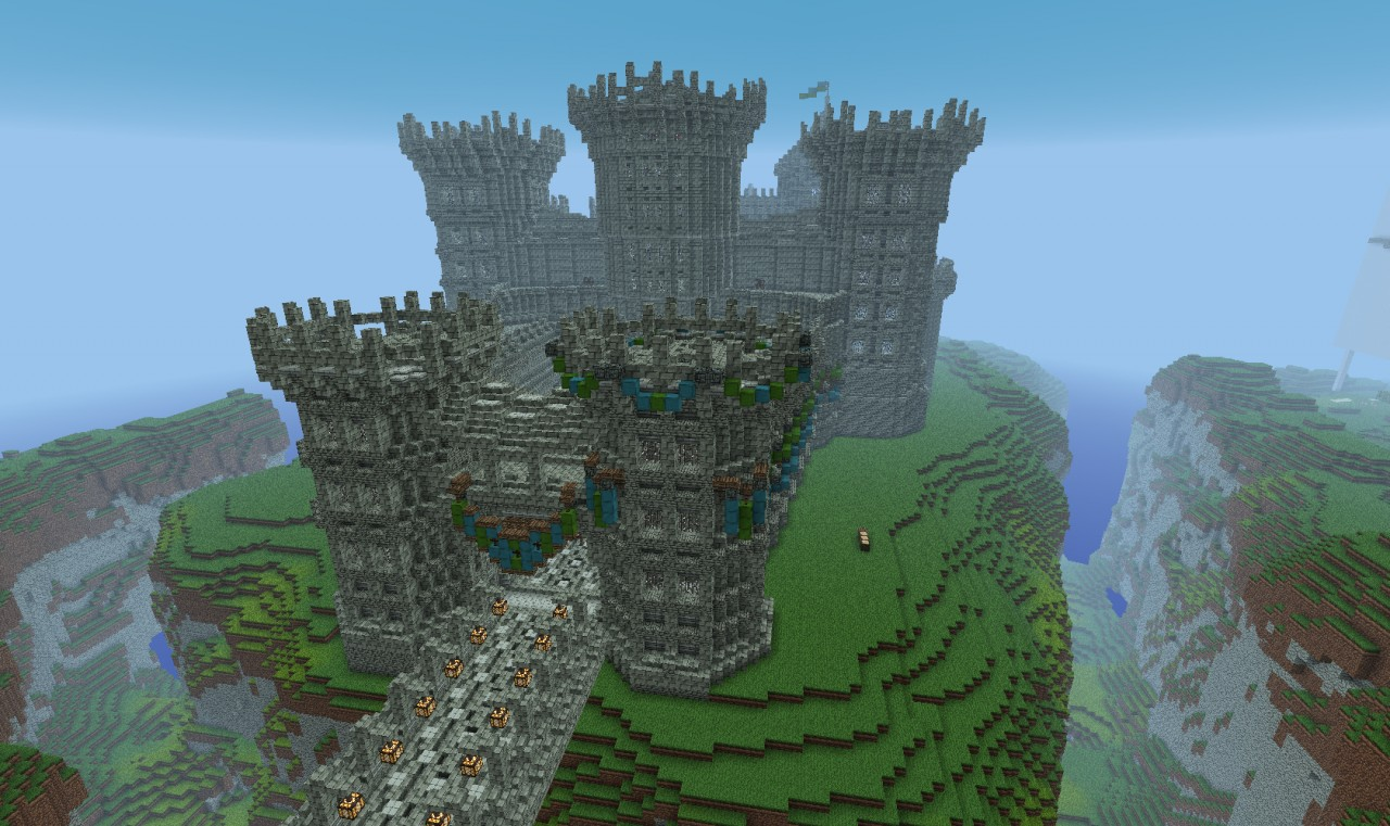 minecraft castle tower ideas