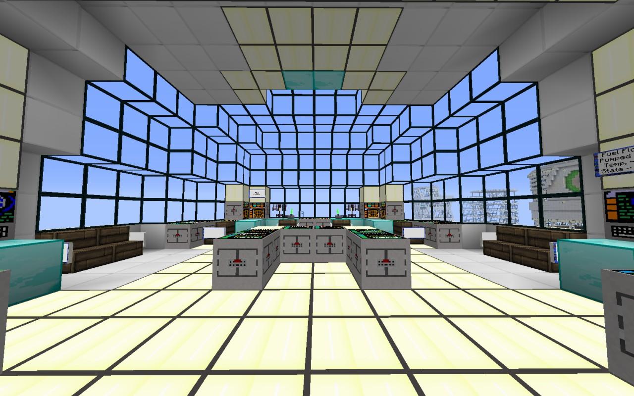 U S S Helios Huge Spaceship Minecraft Project