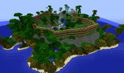 Custom Terrain: Jungle Reinforcement Mission Minecraft Project