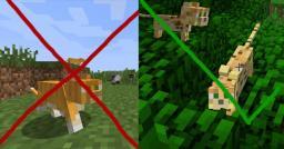 Ocelots stay ocelots when tamed Minecraft Mod