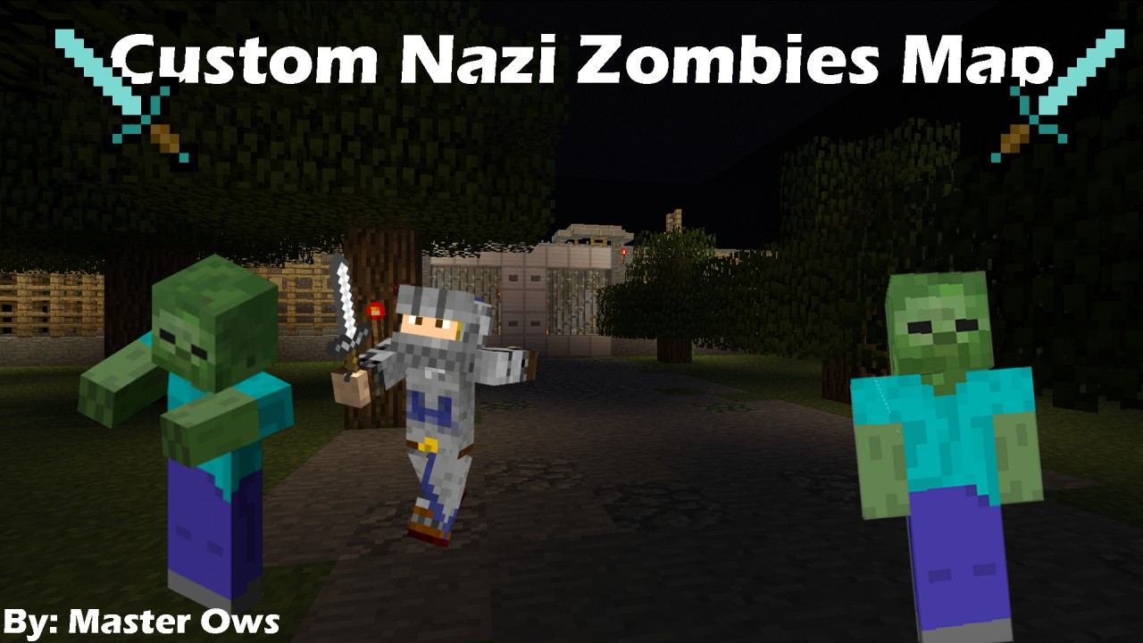 Custom Nazi Zombies Map by Master Ows Minecraft Project