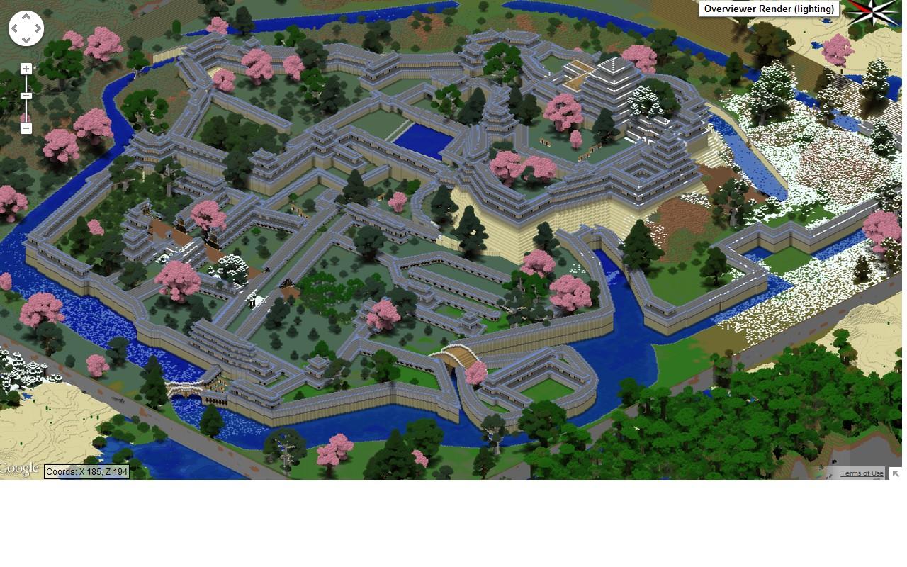 Himeji Jo Creative Map Save
