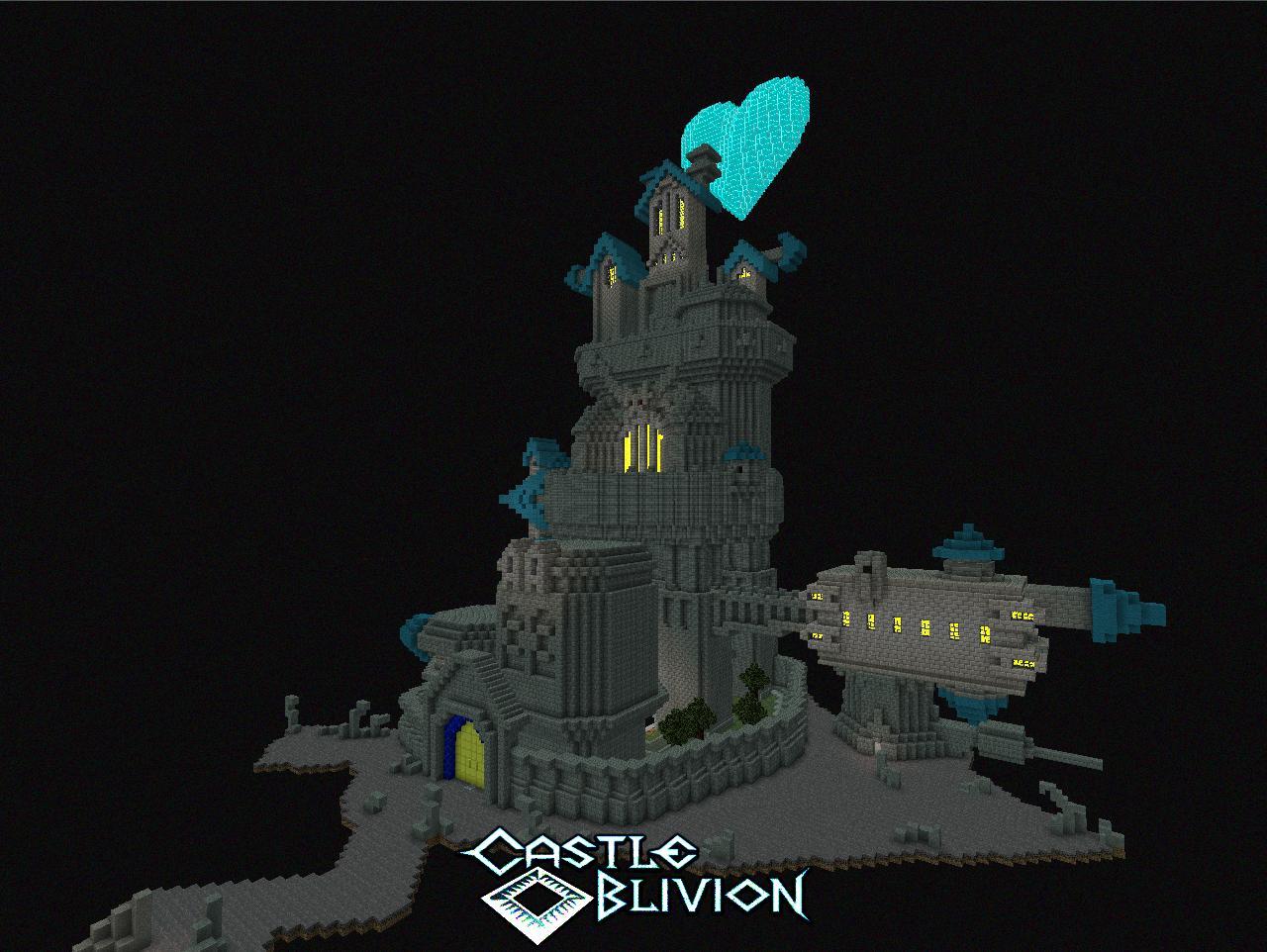 Castle Oblivion Inside Castle Oblivion Kingdom